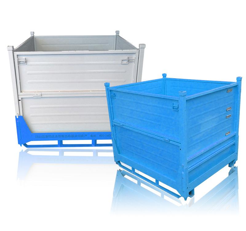 液压传动系统物流铁箱图片